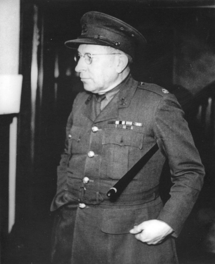 The last photograph taken of Major Sir Frederick Banting MC.