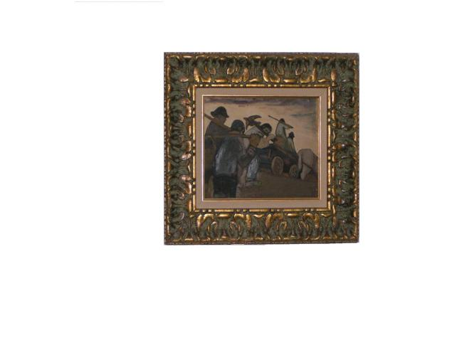 One of Banting's earliest known paintings, now on display at Banting House.