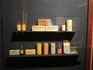 These are some of the insulin vials now on display at Banting House.
