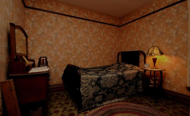 This is a photo of Banting's bedroom. It's amazing to think that this is where Banting came up with his hypothesis for insulin.