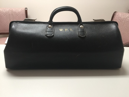 W.P.T doctor's bag