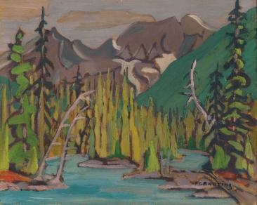 Rocky Mountains, Calgary 1934