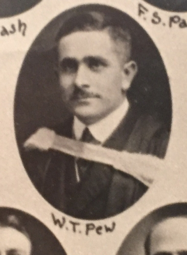 Dr. Tew's graduation photo from the University of Toronto in 1916.