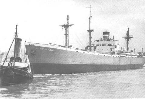 peacetime photo of ss banting 1947-1958