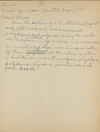 Hughes first examination